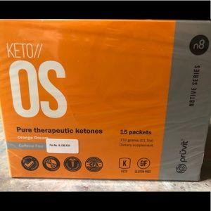 Keto//OS  Orange Dream Caffeine Free